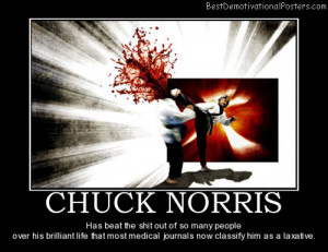 Chuck Norris Motivational Quotes