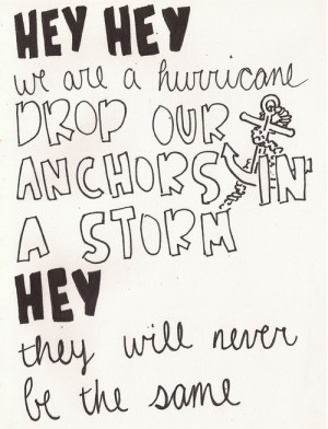 Hurricane by Panic! at the Disco
