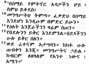 Linguistic Lineage for Amharic