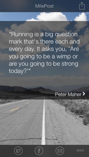 Daily Running Quotes - MilePost
