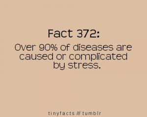 so basically no stress = health