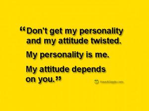 funny attitude quotes