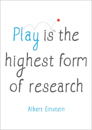 Inspirational Quotation Poster: Albert Einstein | Free EYFS & KS1 ...
