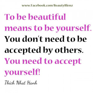 Accept Yourself!