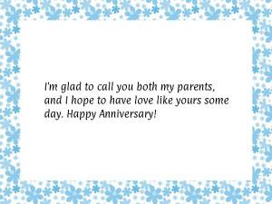 anniversary quotes for parents quotesgram
