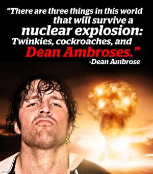 Dean Ambrose Meme