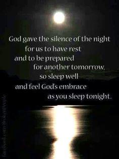 Sleep well More