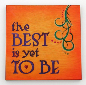 Positive quote wall plaque hand painted by ChuckPetersonDesigns, $45 ...