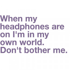 bother, dont bother me, headphones, heart, life - inspiring picture on ...