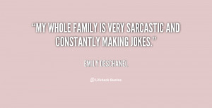 sarcastic family quotes source http quotes lifehack org quote ...