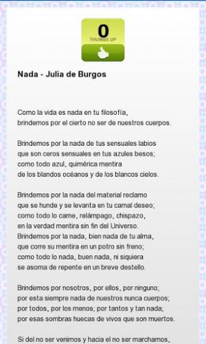 View bigger - Julia De Burgos Poems for Android screenshot
