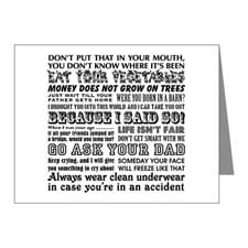 Funny Mother's Day Note Cards (Pk of 10) for
