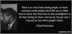 Quotes About Hating People