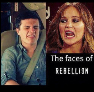 funny quotes about josh hutcherson and jennifer lawrence | Reblogged 1 ...