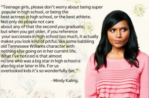Mindy Kaling is the best