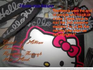 Tumblr Hello Kitty Quotes