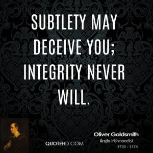 Oliver Goldsmith Quotes