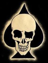 Ace of Spades Skull Tattoo