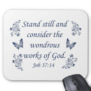 Vintage St. Francis of Assisi God Religious Quote Mouse Pad
