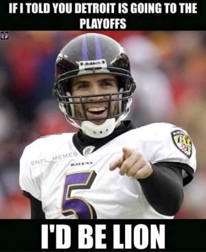 Detroit Lions Funny Memes