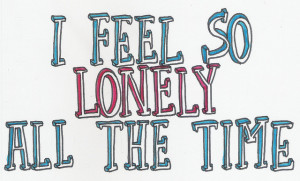 feeling sad and lonely