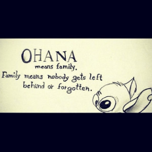 Love this quote from Lelo and stitch