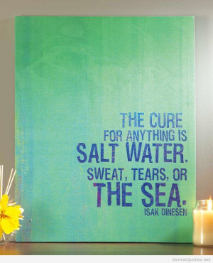The Cure quote hd 0 Isak Dinesen