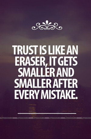 Trust Quotes About Trust Issues and Lies In a Relationshiop and Love ...