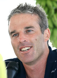 Lewis Gordon Pugh the famous endurance swimmer is currently