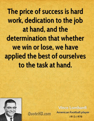 Essay on hard work
