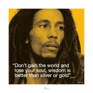 Bob Marley: Wisdom Art Print