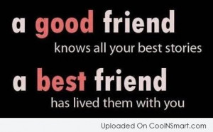 Best Friend Quotes, Sayings for BFFs