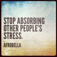 Other people's stress