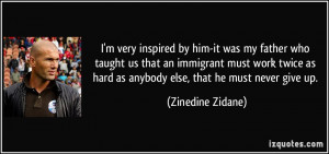 More Zinedine Zidane Quotes