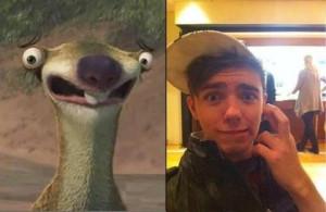 Sid the sloth & Nathan the sloth
