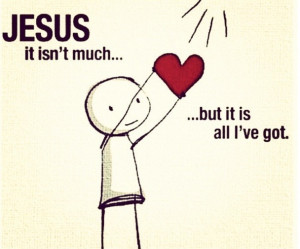 My heart belongs to you #Jesus