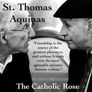 St. Thomas Aquinas...
