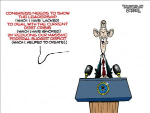 National Debt: Recent Political Cartoons