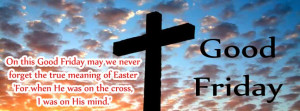 Good Friday FB Cover with Quotes