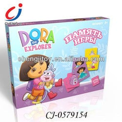 Dora funny and intelligence Russian Memory Match game