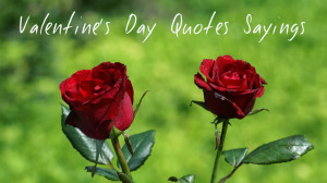Hers's The Awesome Valentine's Day Quotes Sayings