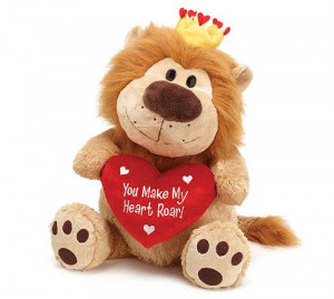 ... Big Cats Valentine Stuffed Animals. Cute and Cuddly Lions and Tigers