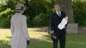 ... Humorous Look at How Julian Fellowes Should Have Saved Matthew Crawley
