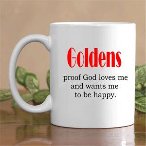 Funny Golden Retriever Coffee Mug - Dog Quote Mugs -Retriever Gift ...