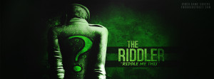 The Riddler Riddle Me This Picture