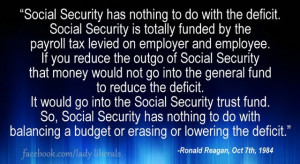 Quote from noted Liberal Democrat... Ronald Reagan...