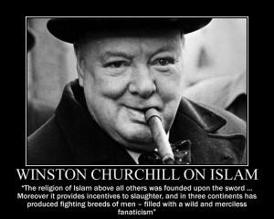 Winston Churchill on Islam by fiskefyren