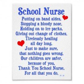 School Nurse Poems