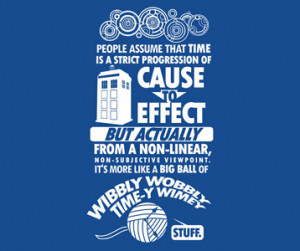 Doctor Who Wibbly Wobbly Timey Wimey T-Shirt