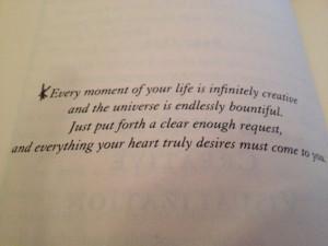 Fave Shakti Gawain quote